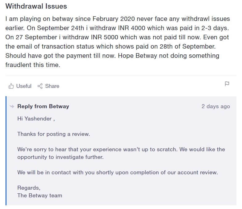 betway review 2