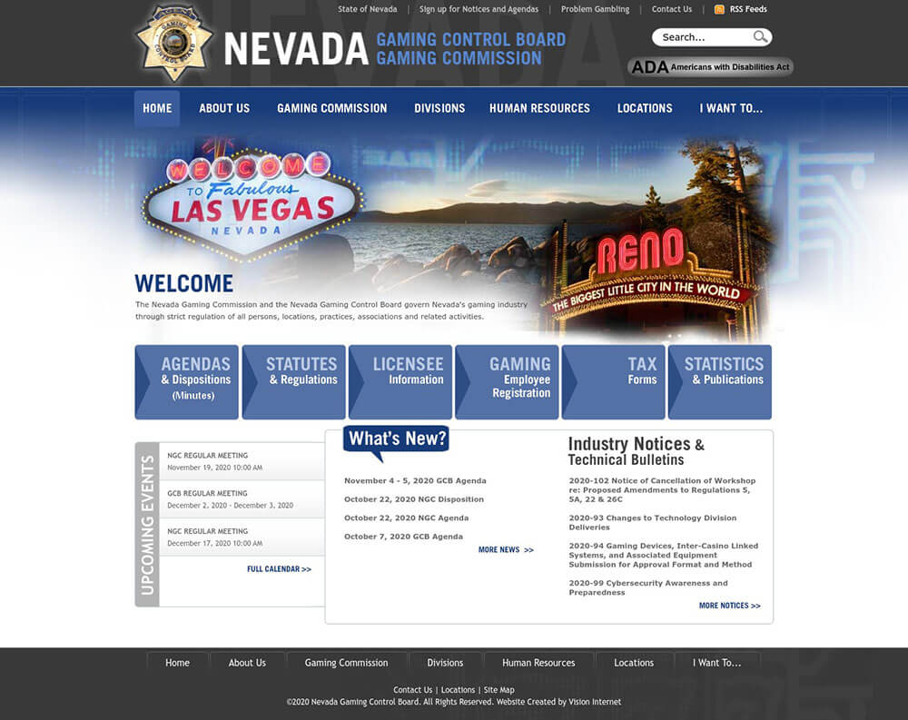 Nevada Boost for US Sports Betting