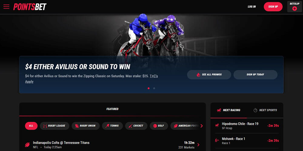 Points Bet Expanding Across the US